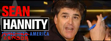 Hannity banner modified by David Sadler