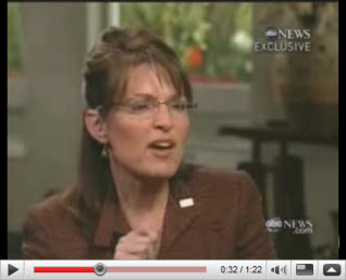 Sarah Palin, image by ABC News