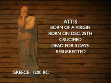 Ciri-ciri agama pagan Attis-greece
