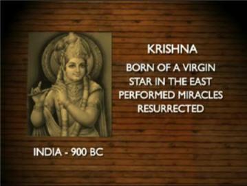 Ciri-ciri agama pagan Krishna-india