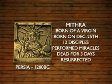 Ciri-ciri agama pagan Mithra-persia